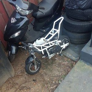 Black AND White Motorbikes White One For Kid Black One For Older Adult for Sale in District Heights, MD