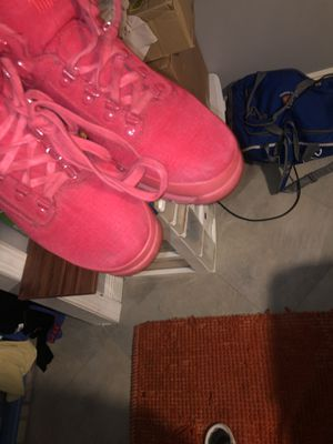 Timberland red work boots for Sale in Margate, FL