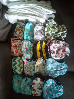 Newborn cloth diapers for Sale in St. Petersburg, FL