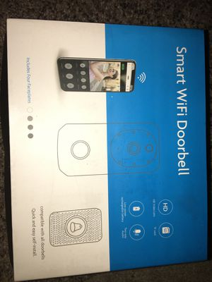 NEW WIFI ENABLED VIDEO DOORBELL for Sale in Kent, WA