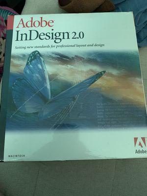 Adobe indesign 2.0 for Sale in Phoenix, AZ