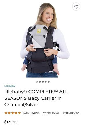 Lillebaby Complete All Season Baby Carrier Graphite for Sale in Delaware, OH