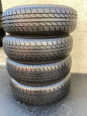 (4) 225/75R15 Trailer Tires for Sale in Santa Ana, CA