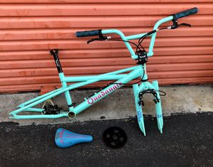 Se bmx bikelife bike frame fork bar stem seat etc for Sale in Fremont, CA