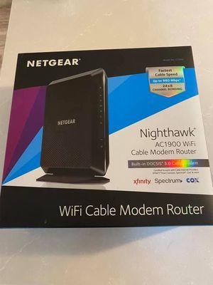 Netgear Nighthawk Modem/Router for Sale in Bonney Lake, WA