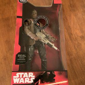 Star Wars The Force Awakens Talking Finn Parlent Doll 2014 - In Original Factory Sealed Box. for Sale in Boca Raton, FL