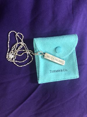 Tiffany & Co necklace for Sale in Washington, DC