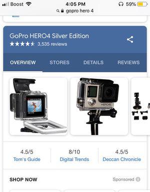 GoPro hero4 for Sale in Davenport, FL
