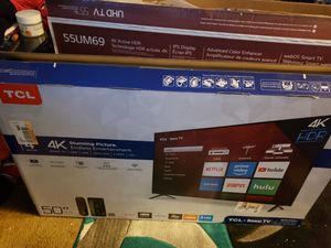 50 inch tcl for Sale in Long Beach, CA