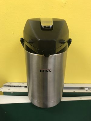 Bunn 2.5 liter Airpot Stainless Coffee Carafe for Sale in North Lauderdale, FL