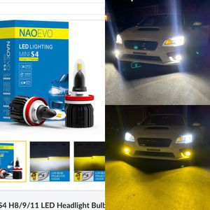 LEDTECH led headlights 2 year warranty with me free installation to most cars for Sale in Grand Terrace, CA