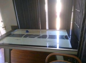 Full size air hockey table. Hover Hockey featuring Glaze Tek for Sale in Paramount, CA