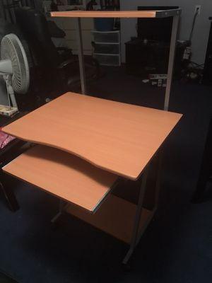 Small desk w/keyboard shelf $25 for Sale in Quincy, MA