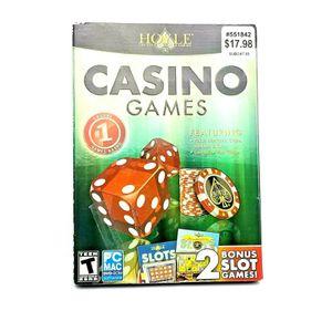 Hoyle DVD-ROM Casino Games with Bonus Slots for MAC WINDOWS PC 2013 USED for Sale in Avondale, AZ