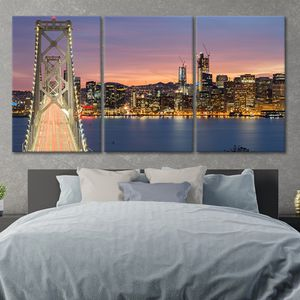 🔥San Francisco Skyline Canvas Wall Art Prices Start at $79.94🔥Get It Here 👉StunningCanvasPrints,com👈 for Sale in San Francisco, CA