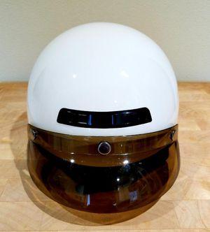 Motorcycle helmet white for Sale in Portland, OR