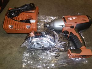 """New Milwaukee M18........1/2"""" . High torque impact wrench set for Sale in Dinuba, CA"""