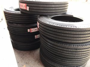 16.5 17.5 19.5 22.5 24.5 drive haul steer traction trailer tire tires for Sale in West Palm Beach, FL