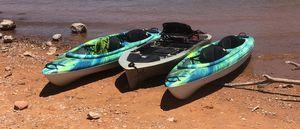 Two tandem 13.6 ft pelican kayaks for Sale in Las Vegas, NV