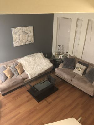 Sofa love seat with tables for Sale in Baltimore, MD