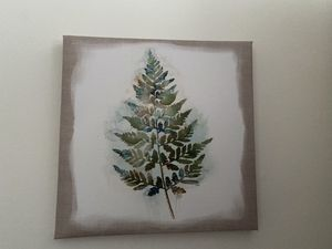 Leaf Pattern Painting for Sale in Ithaca, NY