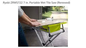 "One time use only Portable Tile saw 7"" for Sale in Livermore, CA"