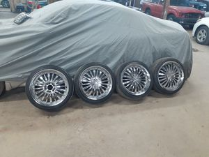 5 lug universal 18s....225/40/18 tires...read post for Sale in East Hartford, CT