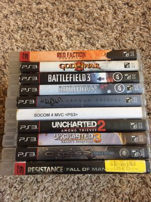 PS3 Games for Sale in Enumclaw, WA