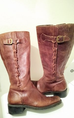 Riding leather women's boots size 7.5 for Sale in Salt Lake City, UT