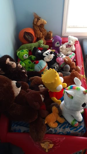 Stuffed animals and character lot! for Sale in Tiverton, RI