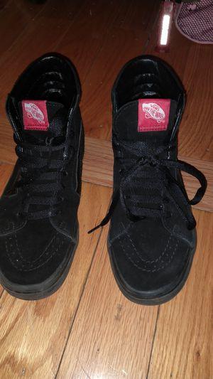 ALL BLACK VANS SK8 for Sale in Bronx, NY