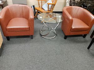 New Tub Chairs $85 each or $150 pair for Sale in Fairfield, CA