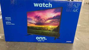 "Brand New 43"" 4K ONN TV! Open box w/ warranty F4K3 for Sale in Los Angeles, CA"