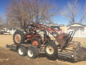tractor with loader. for Sale in Fort Lupton, CO
