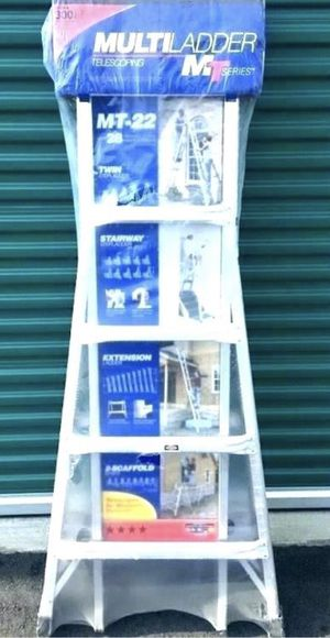 New - Werner 22 Foot Telescoping Multi Position Ladder for Sale in Hamtramck, MI