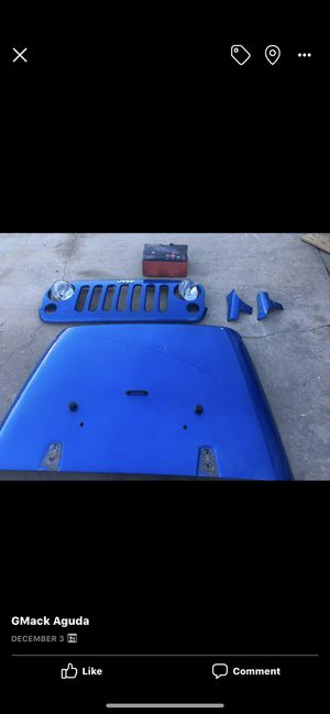 Jeep Wrangler JK OEM Parts(grill sold) for Sale in Bakersfield, CA