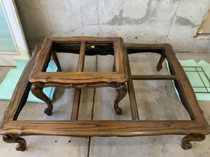 Solid wood living room and coffee tables for Sale in Murray, UT