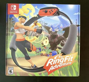 Nintendo Ring Fit Adventure for Sale in Los Angeles, CA