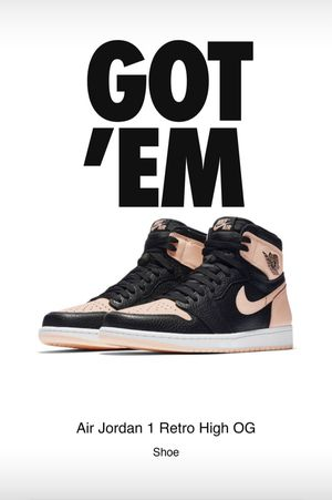 DS Air Jordan 1 Crimson Tint size 9.5 for Sale in Westminster, CA