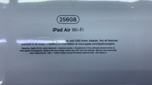 iPad Air 256gb Wifi Brand New Sealed with 1 Year Warranty for Sale in The Bronx, NY