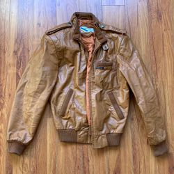Vintage Leather Members Only Jacket (small) for Sale in Los Angeles,  CA