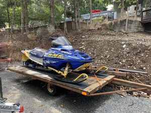 Sale pending Polaris 2003 snowmobile AND TRAILER! for Sale in Sumner, WA