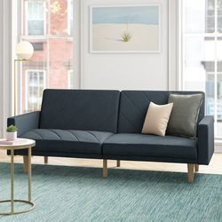New! Modern Navy Blue Fabric Sleeper Sofa for Sale in Columbia,  MD