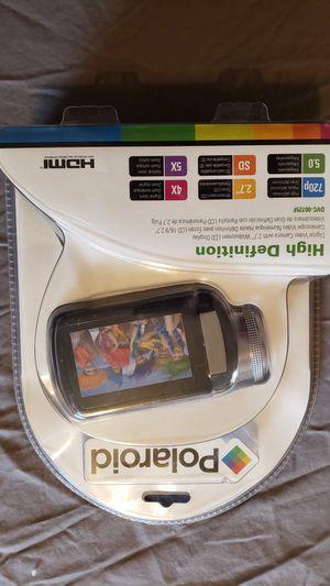 Polaroid, hd video camera for Sale in Orting, WA