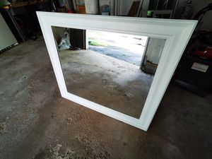 Large mirror with solid wood frame for Sale in North Haven, CT