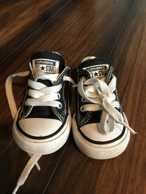Size 3c converse shoes for Sale in Dallas, TX