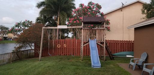 Swing Set - Playground *Must go this Saturday for Sale in Fort Lauderdale,  FL