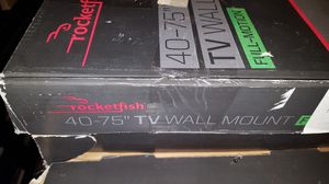 """Rocketfish - Full-Motion TV Wall Mount for Most 40"""" - 75"""" TVs (RF-HTVMM170C) Black - New, Non-Retail Packaging for Sale in Homer Glen, IL"""