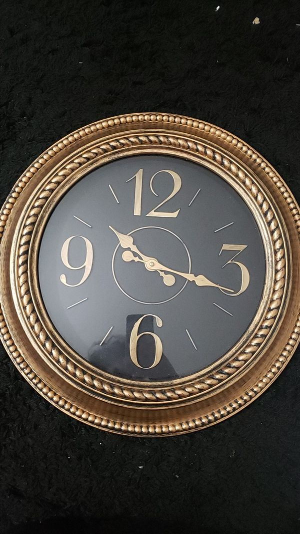 Decorative Wall Gold Clock