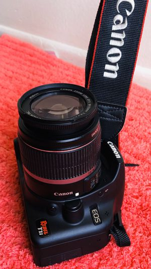 Canon EOS Rebel T1i Digital SLR Camera with 18-55mm lens for Sale in Garden Grove, CA
